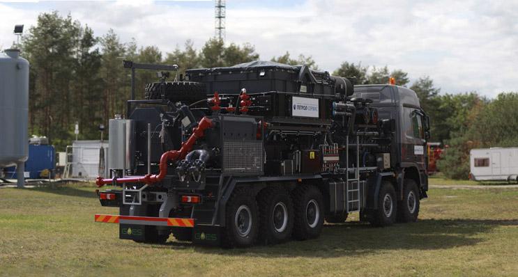 Frac Pump Unit