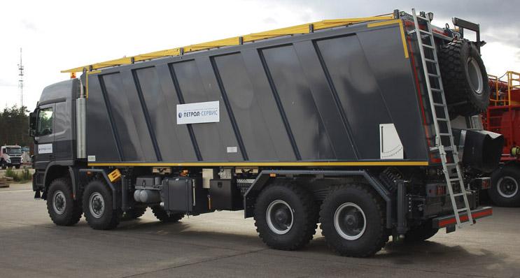 Sand Truck Unit