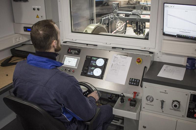 Wireline Unit Pressure Measurement