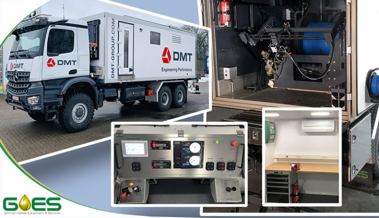 GOES wireline Logging Unit for DMT Group